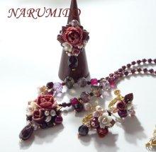 他の写真1: ボンボン薔薇と桜草のリング ワイン キット