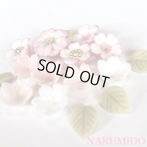 画像2: クレイフラワーセット 桜草 ほんのりピンク