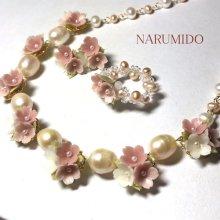 他の写真1: 桜草ブーケのプリンセスネックレス